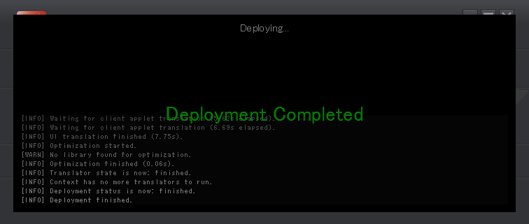 caede-deployment-completed.png